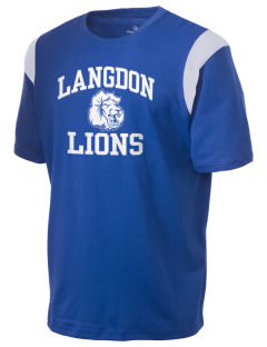 Langdon Elementary School Lions Holloway Men's Rush T-Shirt