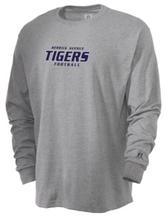 Herrick Avenue Elementary School Tigers  Russell Men's Long Sleeve T-Shirt