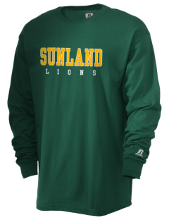 Sunland Elementary School Lions  Russell Men's Long Sleeve T-Shirt