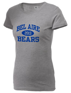 Bel Aire School Bears  Russell Women's Campus T-Shirt