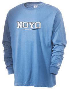 Noyo High School Mustangs  Russell Men's Long Sleeve T-Shirt