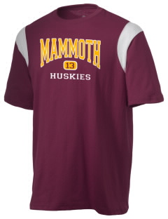 Mammoth High School Huskies Holloway Men's Rush T-Shirt