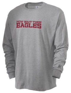 Pinnacles Continuation High School Eagles  Russell Men's Long Sleeve T-Shirt