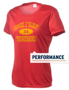 Samuel E Talbert Middle School Thunderbirds Women's Competitor Performance T-Shirt
