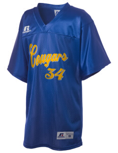 Roch Courreges Elementary School Cougars Russell Kid's Replica Football Jersey