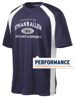 Ethan B Allen Elementary School Mountaineers Men's Dry Zone Colorblock T-Shirt