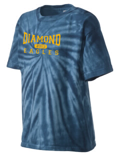 Diamond Elementary School Eagles Kid's Tie-Dye T-Shirt