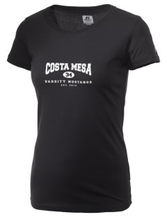 Costa Mesa High School Mustangs  Russell Women's Campus T-Shirt