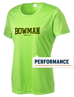 Bowman Elementary School Bulls Women's Competitor Performance T-Shirt