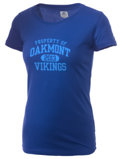 Oakmont High School Vikings  Russell Women's Campus T-Shirt