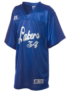 North Tahoe High School Lakers Russell Kid's Replica Football Jersey