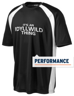 Idyllwild School Mountain Lions Men's Dry Zone Colorblock T-Shirt
