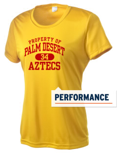 Palm Desert High School Aztecs Women's Competitor Performance T-Shirt