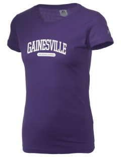 Gainesville High School Hurricanes  Russell Women's Campus T-Shirt