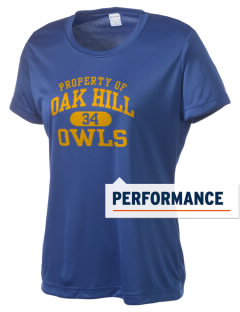 Oak Hill Elementary School Owls Women's Competitor Performance T-Shirt