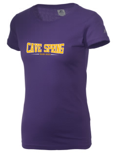 Cave Spring Elementary School Yellow Jackets  Russell Women's Campus T-Shirt