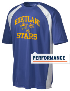 Hokulani Elementary School Stars Men's Dry Zone Colorblock T-Shirt
