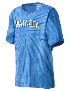 Waiakea High School Warriors Kid's Tie-Dye T-Shirt