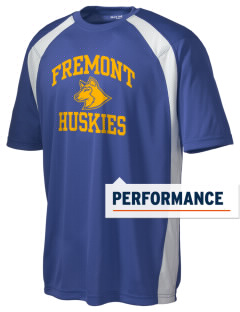 Fremont Elementary School Huskies Men's Dry Zone Colorblock T-Shirt