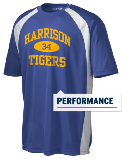 Harrison Elementary School Tigers Men's Dry Zone Colorblock T-Shirt