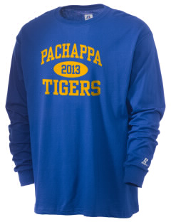 Pachappa Elementary School Tigers  Russell Men's Long Sleeve T-Shirt