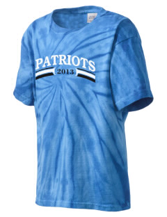 George Washington Elementary School Patriots Kid's Tie-Dye T-Shirt