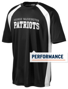 George Washington Elementary School Patriots Men's Dry Zone Colorblock T-Shirt