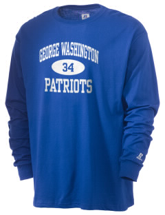 George Washington Elementary School Patriots  Russell Men's Long Sleeve T-Shirt