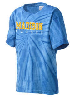Madison Elementary School Eagles Kid's Tie-Dye T-Shirt