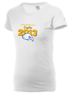 Madison Elementary School Eagles  Russell Women's Campus T-Shirt
