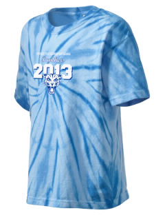 Charles Peck Elementary School Panthers Kid's Tie-Dye T-Shirt