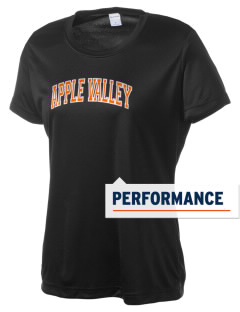 Apple Valley High School Sundevils Women's Competitor Performance T-Shirt