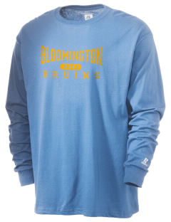 Bloomington High School Bruins  Russell Men's Long Sleeve T-Shirt