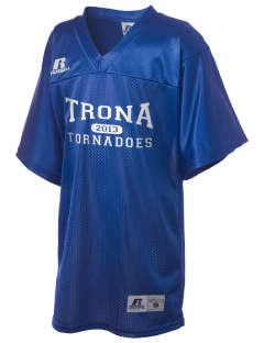 Trona Elementary School Tornadoes Russell Kid's Replica Football Jersey