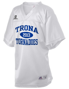 Trona High School Tornadoes Russell Kid's Replica Football Jersey