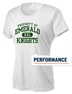 Emerald Middle School Knights Women's Competitor Performance T-Shirt