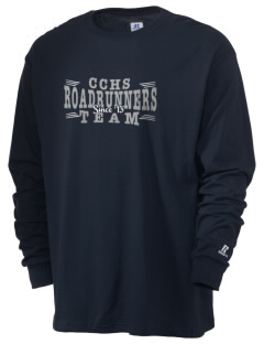 Chaparral Continuation High School Roadrunners  Russell Men's Long Sleeve T-Shirt