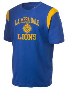 La Mesa Dale Elementary School Lions Holloway Men's Rush T-Shirt