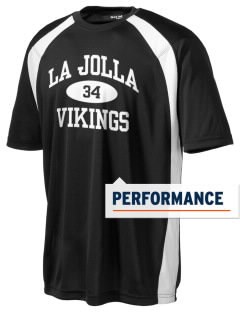 La Jolla High School Vikings Men's Dry Zone Colorblock T-Shirt
