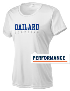 Dailard Elementary School Dolphins Women's Competitor Performance T-Shirt