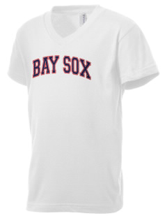 Bay Sox Sox Kid's V-Neck Jersey T-Shirt