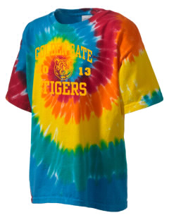 Golden Gate Elementary School Tigers Kid's Tie-Dye T-Shirt