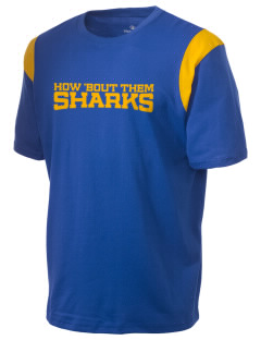 Ulloa Elementary School Sharks Holloway Men's Rush T-Shirt