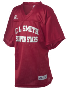 C L Smith Elementary School Super Stars Russell Kid's Replica Football Jersey