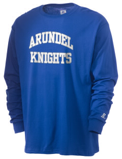 Arundel Elementary School Knights  Russell Men's Long Sleeve T-Shirt