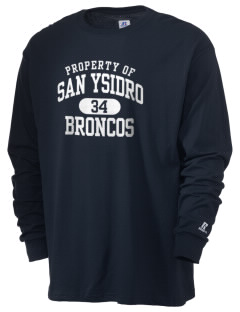 San Ysidro Elementary School Broncos  Russell Men's Long Sleeve T-Shirt