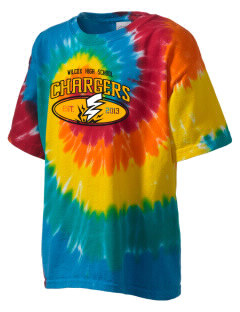 Wilcox High School Chargers Kid's Tie-Dye T-Shirt