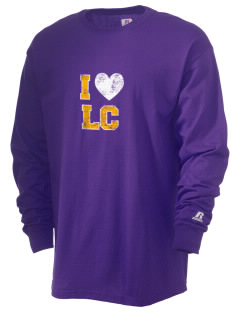 Linscott Charter School Mountain Lions  Russell Men's Long Sleeve T-Shirt