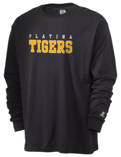 Platina Elementary School Tigers  Russell Men's Long Sleeve T-Shirt