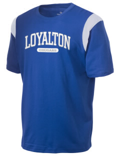 Loyalton Junior High School Cougars Holloway Men's Rush T-Shirt